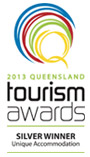 2013 Queensland Tourism Awards - Silver Winner